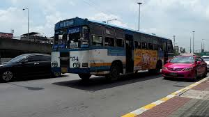 Private Joint Bus Route 17 Bangkok「17-4」 - YouTube