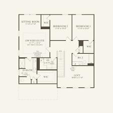 Centex Homes Floor Plans by Mercer At Greenmoor In Apex North Carolina Pulte