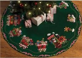 Handmade Christmas Tree Skirt 03