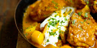 cuisine indienne poulet curry de poulet au yaourt à l indienne recettes femme actuelle