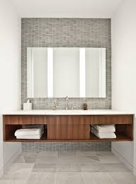 Mid North Residence Industrial Bathroom Chicago by Vinci