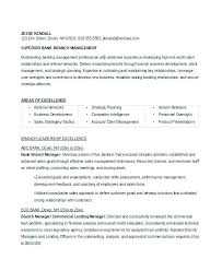Branch Manager Resume Sample Combined With Bank Commercial Banking Relationship To Make