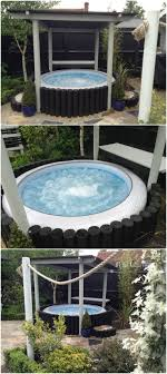81 Best Inflatable Hot Tubs Images On Pinterest | Hot Tubs, Spas ... Keys Backyard Jacuzzi Home Outdoor Decoration Fire Pit Elegant Gas Pits Designs Landscaping Ideas With Hot Tub Fleagorcom Multi Level Deck Design Tub Enchanting Small Tubs Images Spool Hot Tubpool For Downward Slope In Backyard Patio Firepit And Round Shape White Interior Color Above Ground Patios Magnificent With Inspiration House Photo Outside