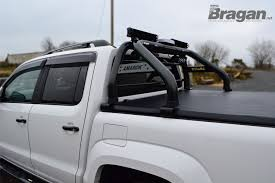 To Fit 2016+ VW Amarok Roll Bar + Light Bars + Beacon + Tonneau ...