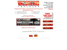 Western Trucking Competitors, Revenue And Employees - Owler Company ... Logistic Business Is A Dicated Wordpress Theme For Transportation Website Template 56171 Transxp Transportation Company Custom Top Trucking Design Services Web Designer 39337 Mears Global Go Jobs Competitors Revenue And Employees Owler Big Rig Ebooks Reviewtop Truck Driver Websites Youtube Free Load Board Truckloads The Uphill Battle Minorities In Pacific Standard 44726 Transco May Work Samples Blackstone Studio Buzznerd Trucks Buzznerdtrucks Twitter