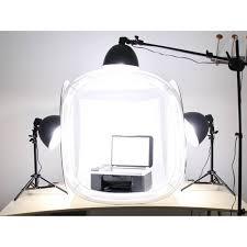 100 Studio Tent Photo Soft Light Box W 4 Backgrounds 40cm