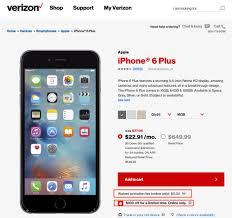 Verizon Memorial Day line Sale Take $100 off iPhone 6 HTC 10