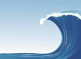 Tidal Wave Clip Art Vector & Illustrations IStock