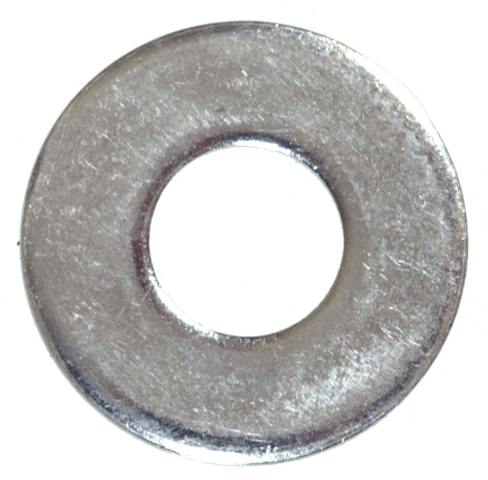 "The Hillman Group Flat Zinc Washer - 5/16"", 100 Pack"