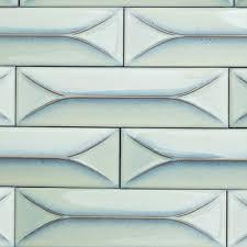 2x8 Ceramic Subway Tile by Byzantine Alice Blue 3d Ceramic Tile Unique Sizes Subway Tile