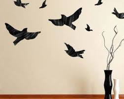 Flying Birds Wall Decor Bird Decals Decal Simple