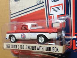 100 1962 Dodge Truck DODGE D100 LONG BED W TOOL BOX RED CROWN GASOLINE 1