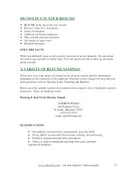 How To Sell Yourself In A Cover Letter Should I Include With My Resume Where Full