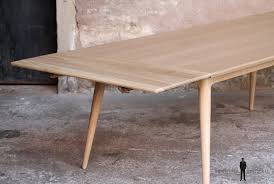 table chene massif sur mesure made in scandinave