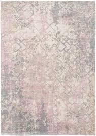 teppich vintage rosa grau