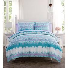 low prices 5 piece girls light purple blue white tiedye theme