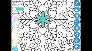Zen Coloring App Usage Basic Instructions