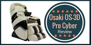 Osaki Os 4000 Massage Chair Assembly by Osaki Os 3d Cyber Pro Massage Chair Review December 2017