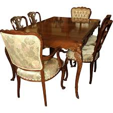 Country French Provincial 1940's Dining Room Set By Joerns ... Art Deco Ding Room Set Walnut French 1940s Renaissance Style Ding Room Ding Room Image Result For Table The Birthday Party Inlaid Mahogany Table With Four Chairs Italy Adams Northwest Estate Sales Auctions Lot 36 I Have A Vintage Solid Mahogany Set That F 298 As Italian Sideboard Vintage Kitchen And Chair In 2019 Retro Kitchen 25 Modern Decorating Ideas Contemporary Heywood Wakefield Fniture Mediguesthouseorg