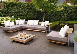 Fancy Modern Outdoor Sectional Sofa Innovative Patio Pads For Chairs And Low Profile