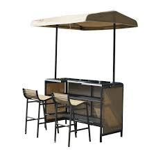 Pyramid Patio Heater Hire by Outdoor 3 Piece Mesh Cloth Canopy Bar Set Table U0026 Two Chairs Shade