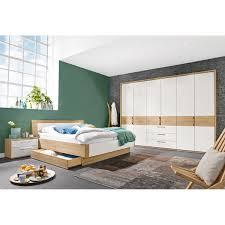 casavanti schlafzimmer set zelo eiche macao lack bianco weiß hg