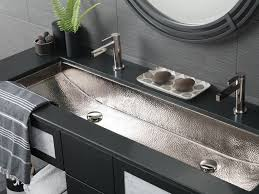 Double Bathroom Sinks Home Depot by Bathroom Trough Sinks For Bathrooms 27 Kohler Drop In Bathroom