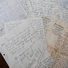 Cartas De Soldados De La Segunda Guerra Son Enviadas Luego