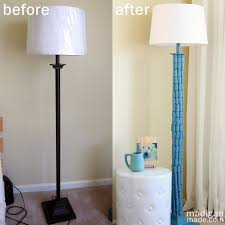 DIY Lamp Makeover With Wine Corks