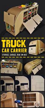 100 Truck Paper Car Carrier Idea Only Car Carrier Kiddos Me Pinterest DIY Toys
