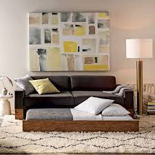 West Elm Rochester Sofa by Emery Sofa Twin Daybed W Trundle West Elm