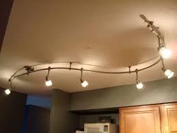 ceiling track lighting brushed nickel 4 light or wall adjustable 9