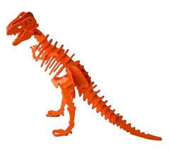 Melissa And Doug Dinosaur Floor Puzzles by 3d Dinosaur Puzzle Tyrannosaurus Rex Komatex Pvc 9 Color