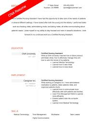 Cna Resume Sample Templates Wonderful Entry Level With Hospital No Experience And
