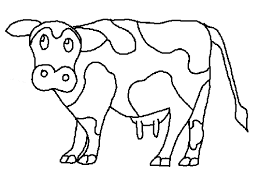 Full Size Of Coloring Pages Cows Cow Free Printable For Kids Download Page