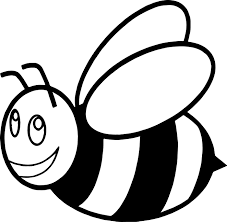 Cute Cartoon Bumble Image Gallery Bee Coloring Page