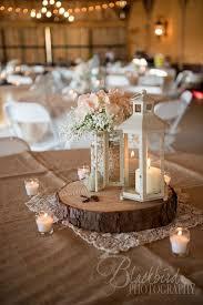 Rustic Vintage Mason Jar Lantern Wedding Centerpiece Himisspuff