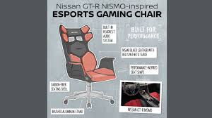 Nissan Reveals The 'ultimate' Gaming Chairs – Which You Won ... Gaming Chair With Monitors Surprising Emperor Free Ultimate Dxracer Official Website Mmoneultimate Gaming Chair Bbf Blog Gtforce Pro Gt Review Gamerchairsuk Most Comfortable Chairs 2019 Relaxation Details About Adx Firebase C01 Black Orange Currys Invention A Day Episode 300 The Arc Series Red Myconfinedspace Fortnite Akracing Cougar Armor Titan 1 Year Warranty