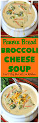 Panera Pumpkin Muffin Recipe by Panera Bread Broccoli Cheese Soup Can U0027t Stay Out Of The Kitchen