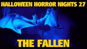 Halloween Horror Nights Parking by The Fallen Maze Highlights Halloween Horror Nights 27 Youtube