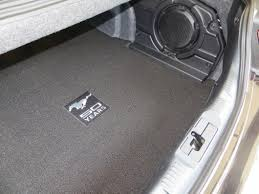 Lloyd Floor Mats Smell by Lloyd Mustang Trunk Mat W 50th Anniversary Logo Black 386408
