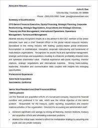 Corporate Resume Template Free Best Sample Corporate Resume format