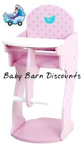 Wooden High Chair For Dolls Highchair Toy Australia ... Solid Wood Baby Doll High Chair Olivias Little World Princess Baby Doll Fniture High Chair White Wooden 18 Inch Chiwanji Toddler Ding For 911 Reborn Toy Exquisite Plans Of 17672 Owl Theme Cradle And Highchair Set Delights And Girls Dolls Wardrobe Item Perfect For Ideas Rattan Vintage Miniature Wood Vertigo Toys Old Role Play Le Van Melissa Doug Accsories