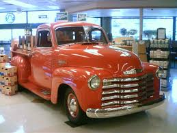 100 52 Chevy Truck For Sale Ebay Find A Clean Kustom Red 3100 Series Pickup