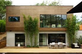 maison en bois cap ferret maison bois contemporaine cap ferret a un fil côté maison