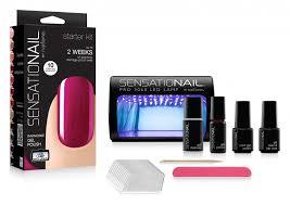 Sensationail Led Lamp Walmart by Diy Sensational Gel Nail Kit Youtube