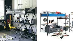 chambre avec lit superposé lit mezzanine ado design lit mezzanine enfant alinea lit superpose
