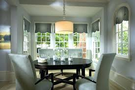 Modern Valances For Dining Room With Decorations Contemporary