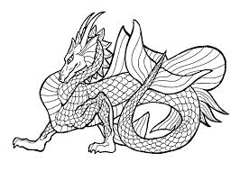 Dragon Coloring Pages Printable Inside 1762005