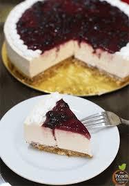 Pellegrino s No Bake Blueberry Cheesecake